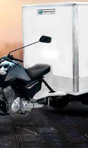 Baú isotérmico para moto
