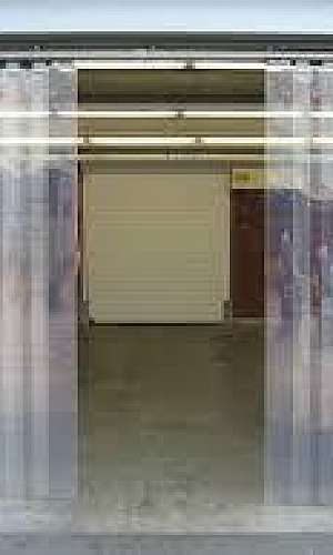 cortina de açougue
