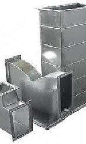 Duto de aço galvanizado