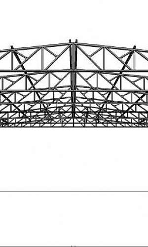 Fábrica de estrutura metálica