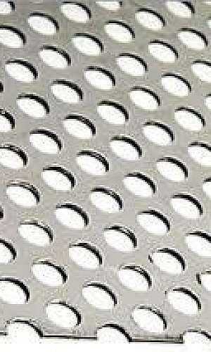 Fornecedores de chapas perfuradas