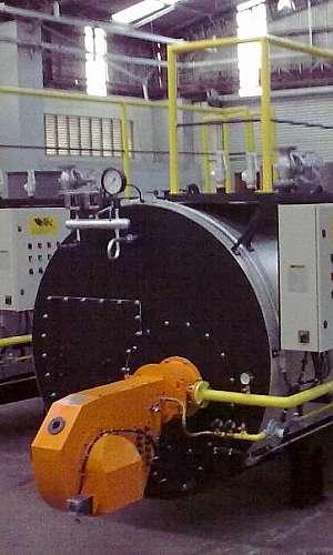 Gerador de vapor industrial