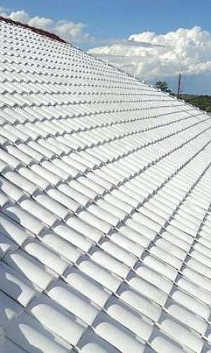 Impermeabilização de telhado com manta liquida