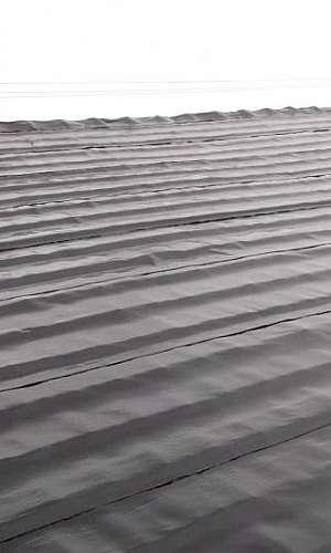 Impermeabilização de telhados com manta asfáltica