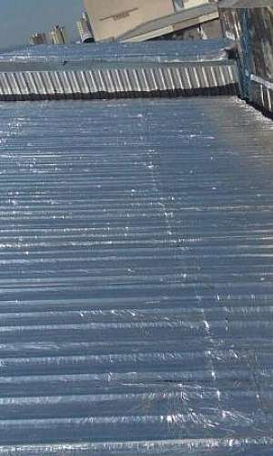 Impermeabilização de telhados galvanizados