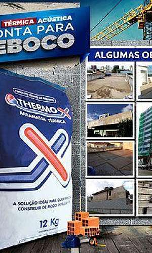 Indústria de argamassa isolante térmica
