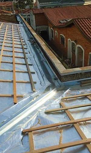 Isolamento térmico em telhados