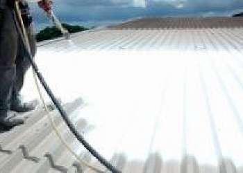 Isolamento térmico para telhado galvanizado