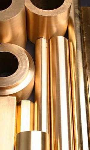 Liga metálica do bronze