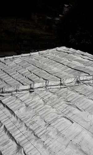 Manta asfáltica aluminizada