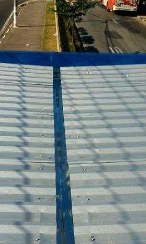 Manutenção em telhados metálicos