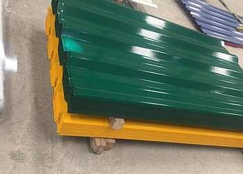 Telha de alumínio galvanizada preço