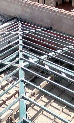 Preço estrutura metálica para telhado