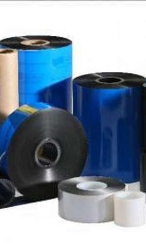 Preço etiquetas ribbon resina