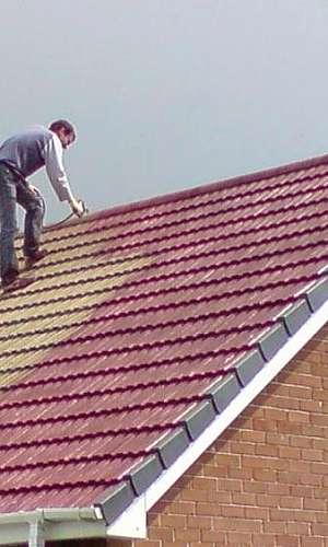 Revestimento externo para telhados