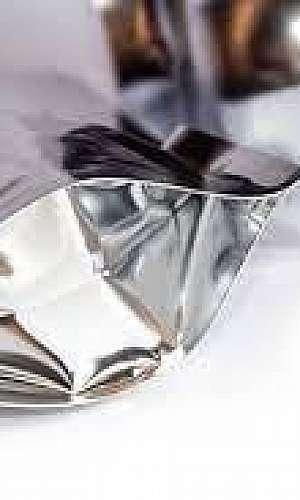 Saco plastico metalizado