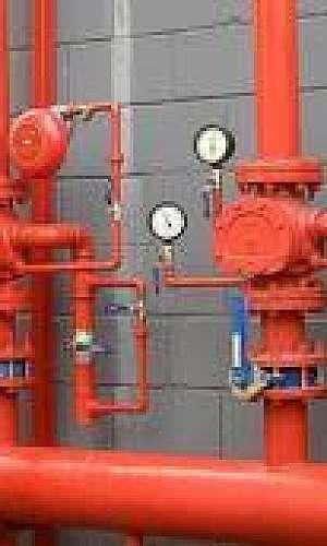 Serviço de instalação de hidrantes