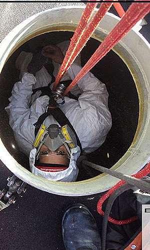 Serviço em espaço confinado