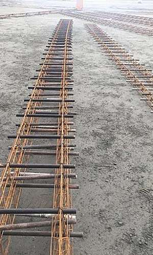 Tela metálica para piso