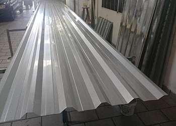 Telha de alumínio galvanizada