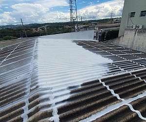 Tinta impermeabilizante para telhado de zinco