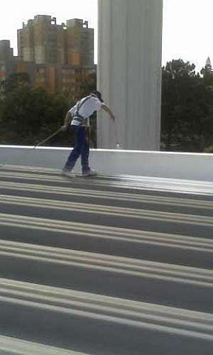 Tinta térmica para telhado de alumínio