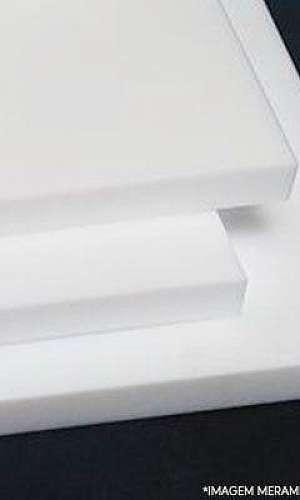 usinagem de mesas planas em UHMW